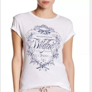 New WILDFOX Graphic Tee Small